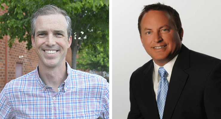 Brad Anderson and Paul Pate
