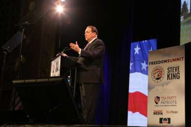 Mike Huckabee at 2015 Iowa Freedom Summit Photo credit: Dave Davidson - Prezography.com