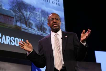 Ben Carson at 2015 Iowa Freedom Summit Photo credit: Dave Davidson - Prezography.com