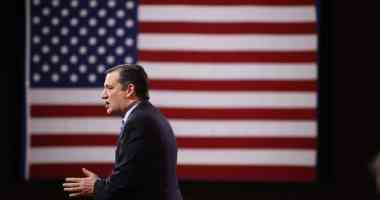 Ted Cruz speaking at CPAC 2015. Photo credit: Dave Davidson (Prezography.com)