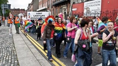 A gay pride parade in Dublin 2011. Photo credit: William Murphy via Flickr (Attribution 2.0)