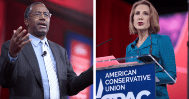Ben Carson and Carly Fiorina