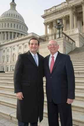 Senator Cruz and Rafael