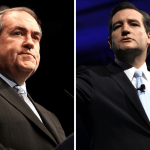Everybody's Wrong: Cruz & Huckabee Are on Opposite Sides of the Ball