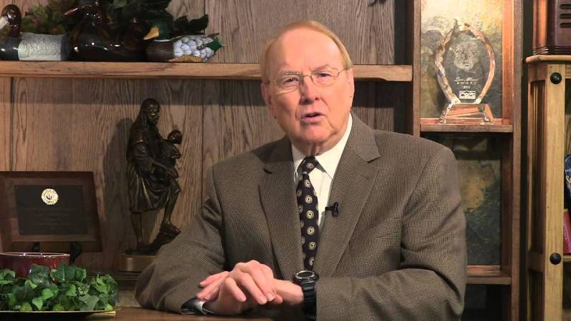Dr. James Dobson: founder & president of Family Talk.