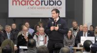 U.S. Senator Marco Rubio (R-FL) holds a town hall meeting in Ankeny, IA.