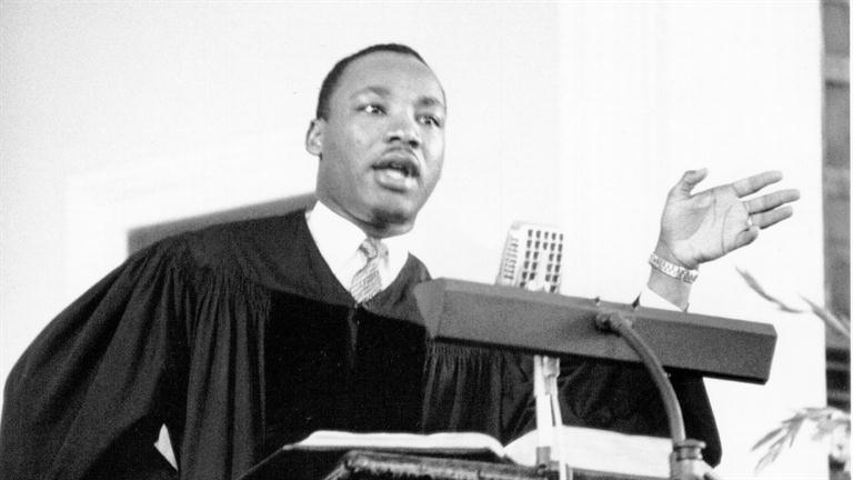 Matin Luther King Preaching