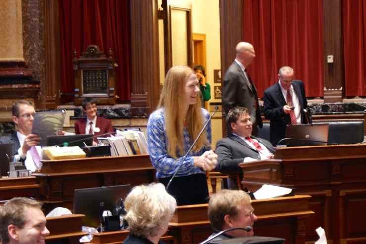 State Senator Amy Sinclair (R-Allerton)Photo credit: Iowa Senate Republicans