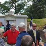 Iowans Celebrate Governor Samuel Merrill's Mausoleum Restoration