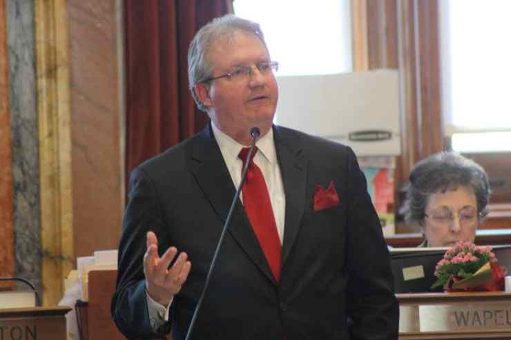 State Representative Tom Sands (R-Wapello)Photo credit: Iowa House Republicans