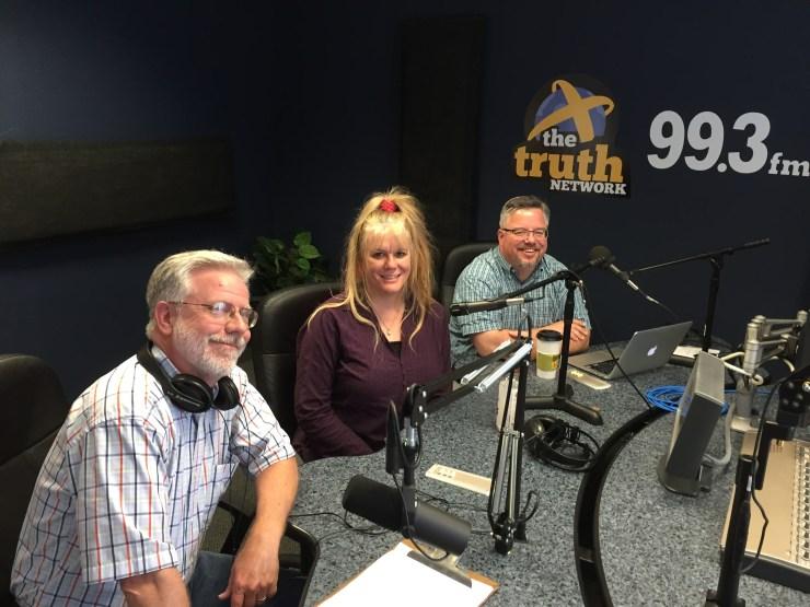 Brian Myers, Jenifer Bowen and Shane Vander Hart