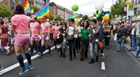A Gay Pride Parade in Dublin, Ireland on June 25, 2011. Photo credit: William Murphy (CC-By-SA 2.0)