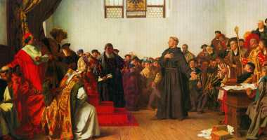 Martin Luther at the Diet of Worms – Anton von Werner – 1877