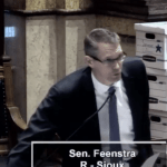 Randy Feenstra Rebukes Iowa Senate Democrats for Intolerance