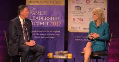 Bob Vander Plaats interviews Kellyanne Conway