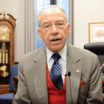 (Video) Chuck Grassley on Thanksgiving 2017