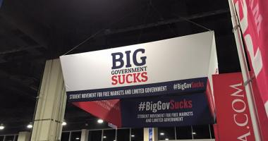 big gov sucks banner