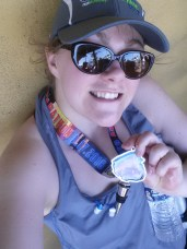 The infamous wine bottle medal!