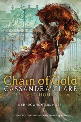 Book cover Chain of Gold by Cassandra Clare