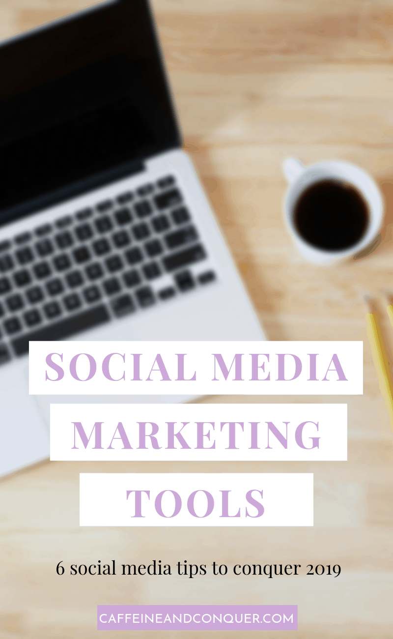 A pinnable image: Social Media Marketing Tools