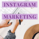"""A Pinterest image with text """"Pinterest and Instagram Marketing: Which One Is Right For You?"""""""
