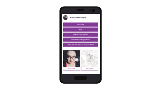 Mobile view of Smart.Bio