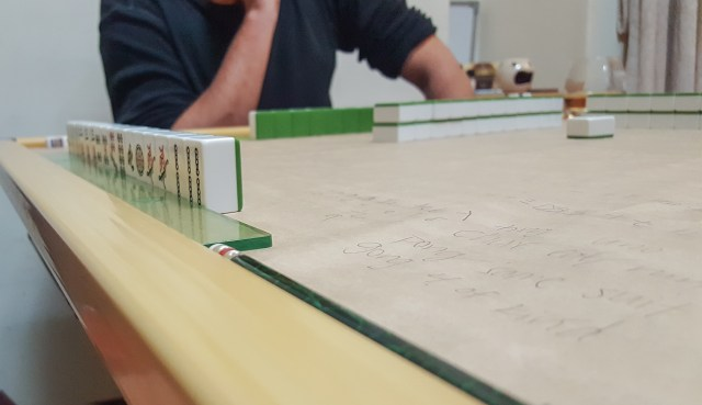 Create new traditions when you move abroad - like mahjong night!
