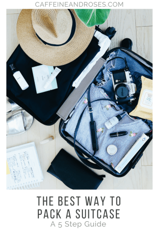 The Best Way to Pack a Suitcase: A 5 Step Guide