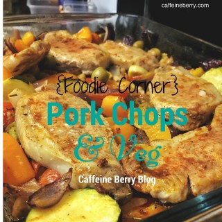 recipe, food, pork chops, vegetables,