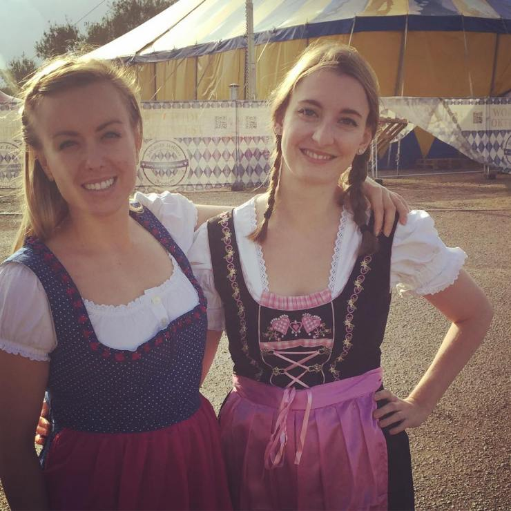 Do we make convincing German girls? #oktoberfest