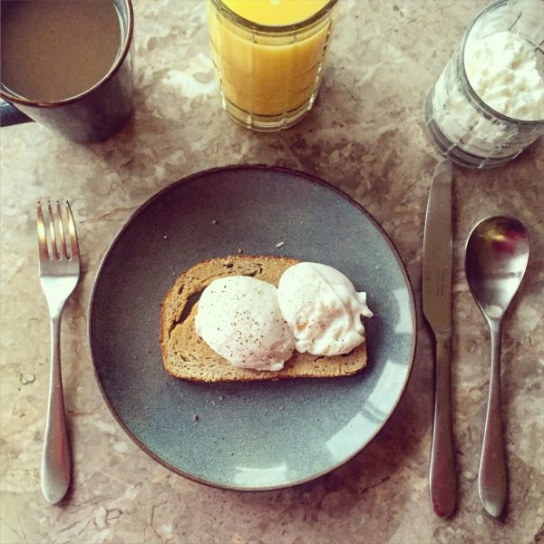 Poached eggs, level expert