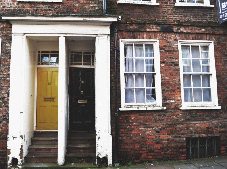 Yellow and Black Door, York, England