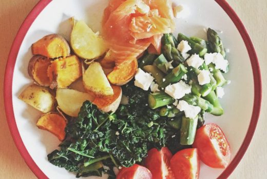 Quick and Easy Smoked Salmon Plate, Paleo Dinner Idea