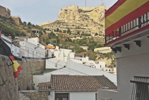 el castillo de santa barbara