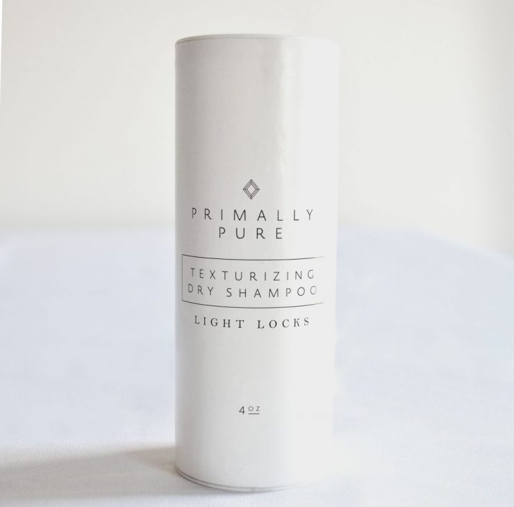Product Review - Primally Pure Dry Shampoo