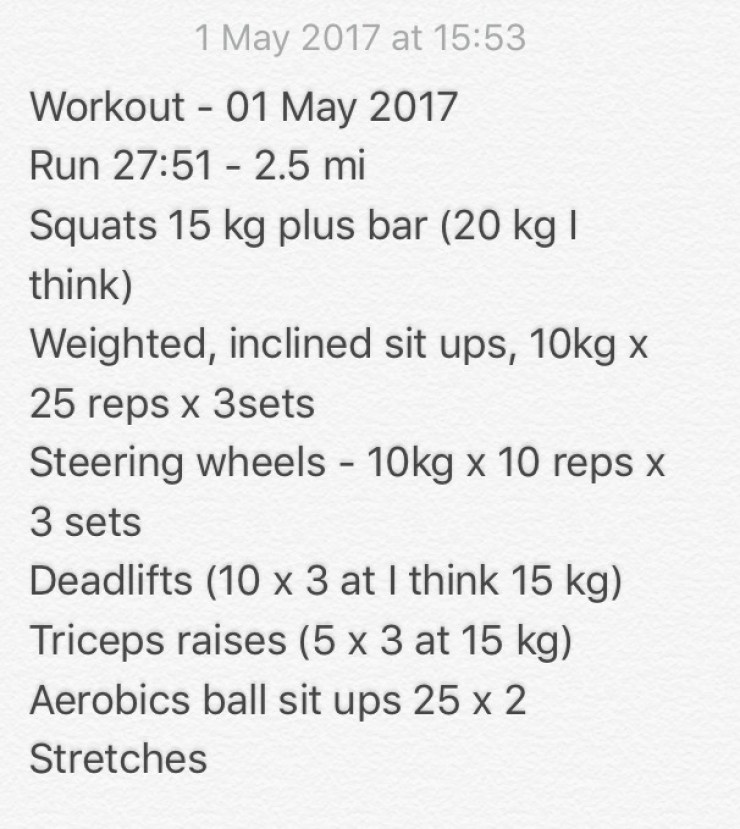 01 may 2017 workout caffeineberry
