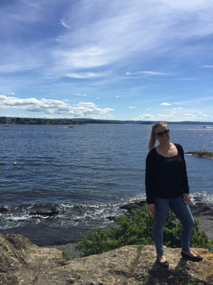 Me in Oslo by the Water