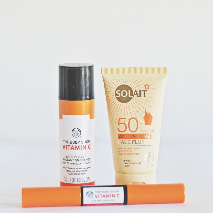 Summer Skin - Sunscreen and Vitamin C