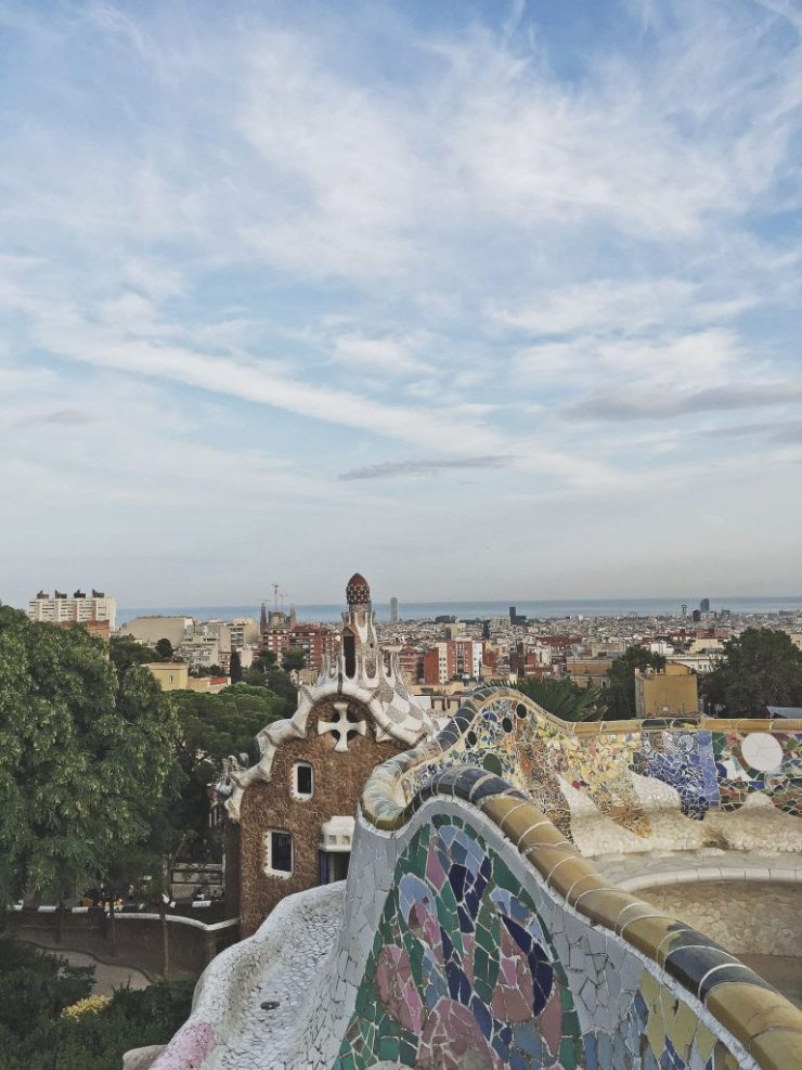 Barcelona - Views from Park Guell