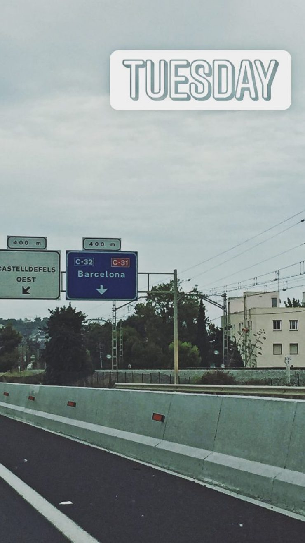 Barcelona - conduciendo