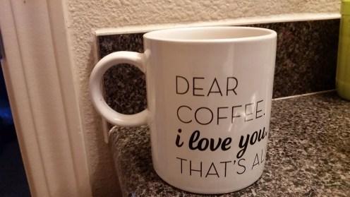 Dear Coffee,