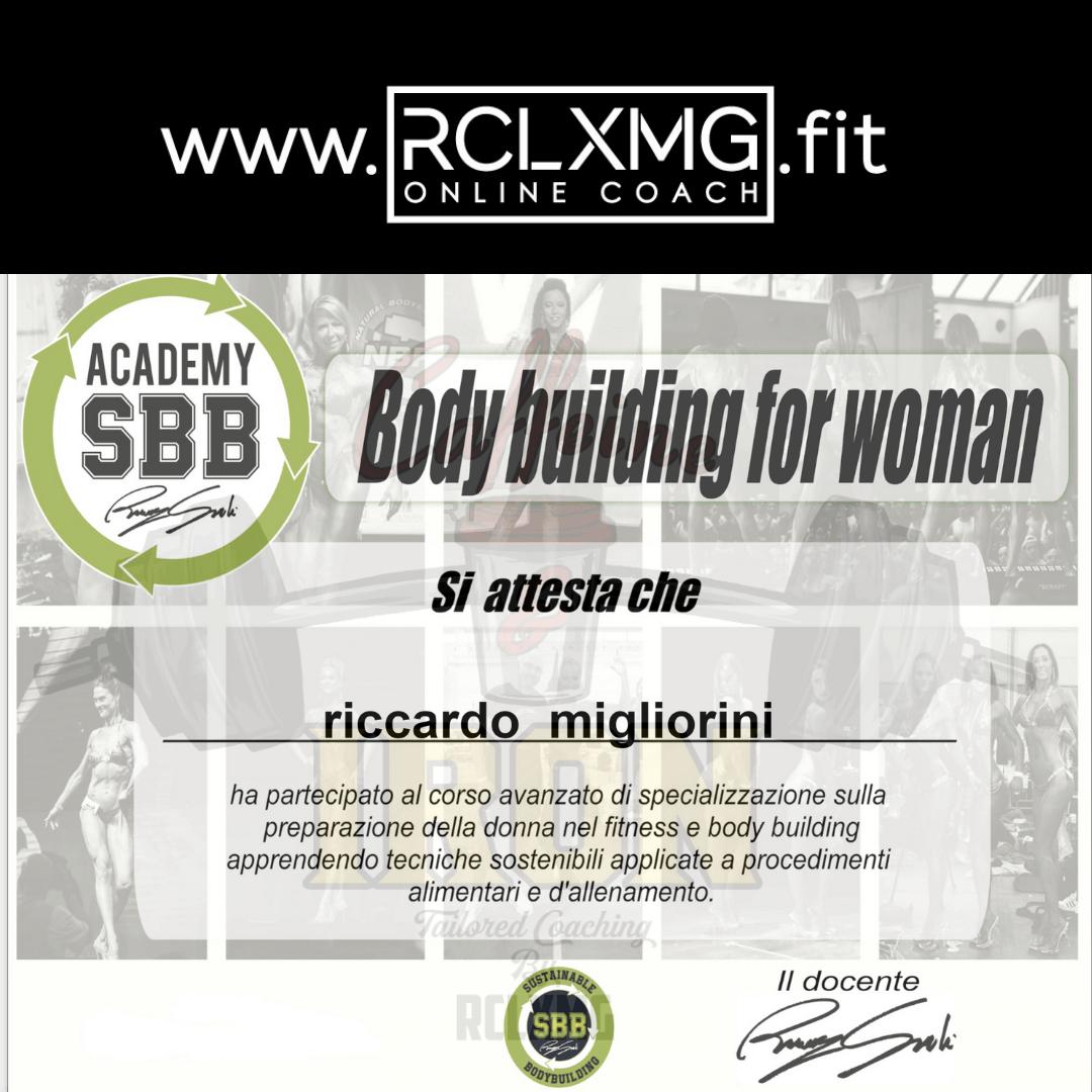 Bodybuilding Femminile SBB