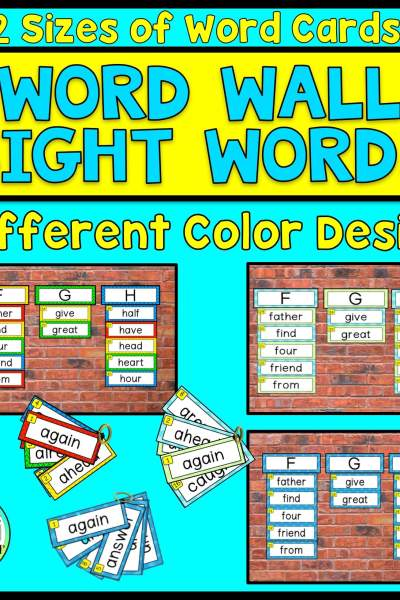 High Frequency Words Wall