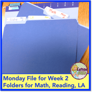 Easy lesson plan organization