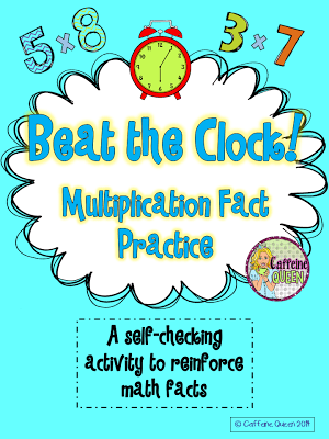 Fun way to practice multiplication facts