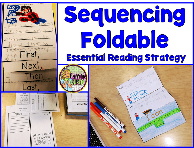 Sequencing important events in reading