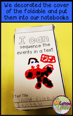 sequencing events for reading comprehension