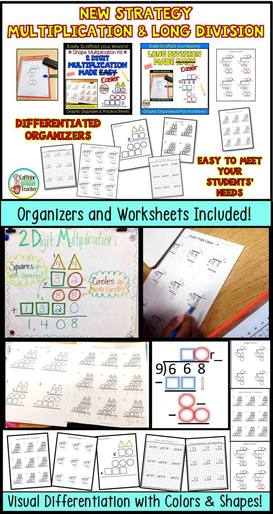 A New Strategy For Multiplication And Long Division