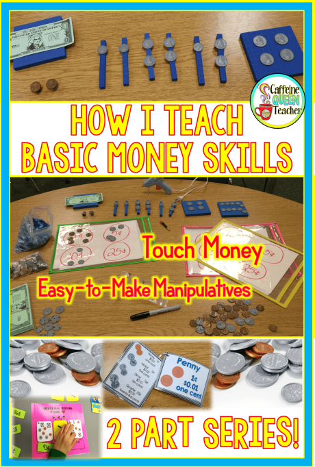 Teaching basic money skills to students