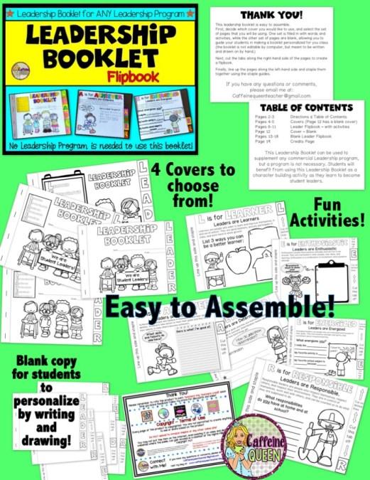 Student Leaders Flip Book of Leadership Qualities